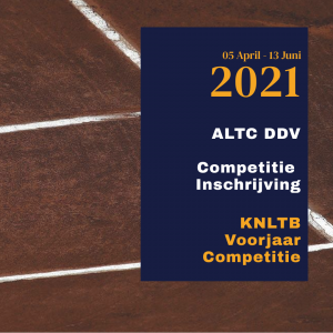 Competitie inschrijving 2021