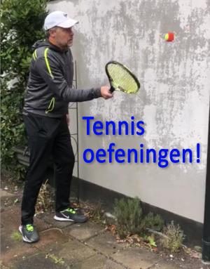 tennis oefeningen